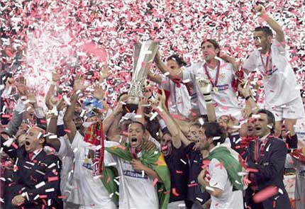El Sevilla arrasa al Middlesbrough y gana a lo grande su primer título europeo
