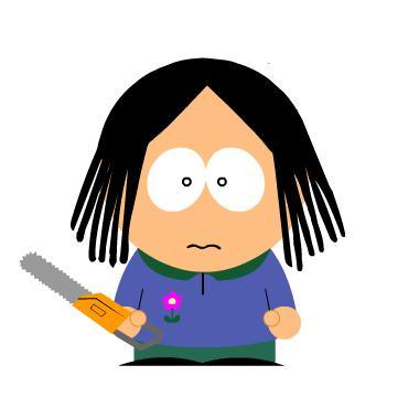 Inés en South Park