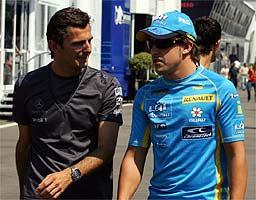 Hamilton será el compañero de Fernando Alonso en McLaren