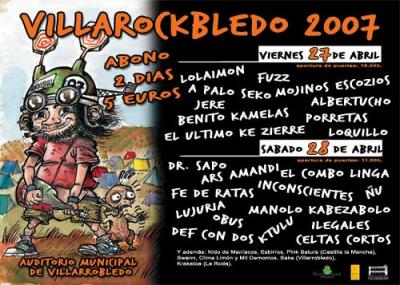 Villarockbledo 2007