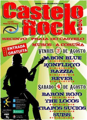 Cartel Castelo Rock 2007
