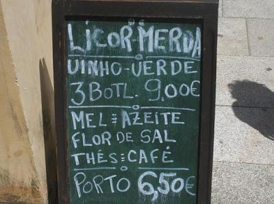 Lisboa 2007: O licor de merda