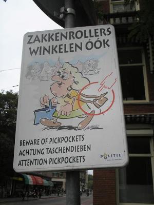 Amsterdam 2007 Carteis de ladróns