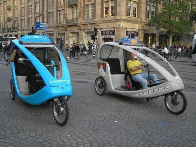 Amsterdam 2007 Taxi-bicis