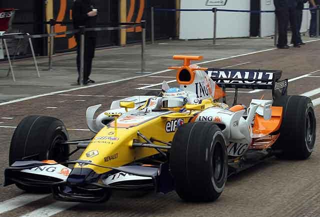 O novo Renault de Alonso