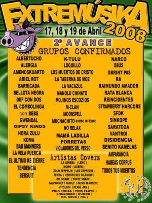 Extremúsika 2008