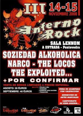 III inferno rock