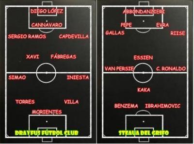 DRAYFUS FÚTBOL CLUB - STEAUA DEL GRIFO (2-4)