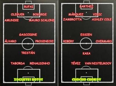 XOGUETES ROTOS - CHOCHO CHOKOV (1-3)